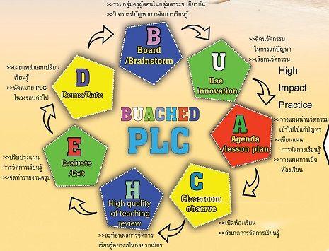 การส่งเสริมนวัตกรรมชุมชนแห่งการเรียนรู้เชิงวิชาชีพ(professional learning communication: PLC)